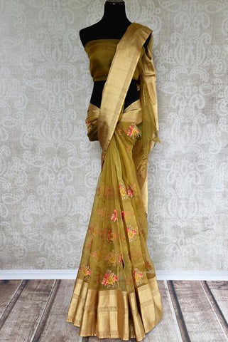 Maheshwari Tissue Silk Saree