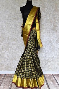 Kanjivaram Saree with Zari