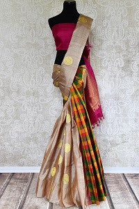 Kanchipuram Sari with Double Pattern
