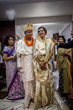 Assamese Newly wed couple