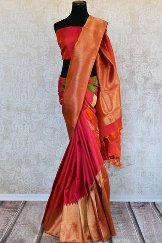 Pure Silk concept bridal saree for your Bollywood wedding
