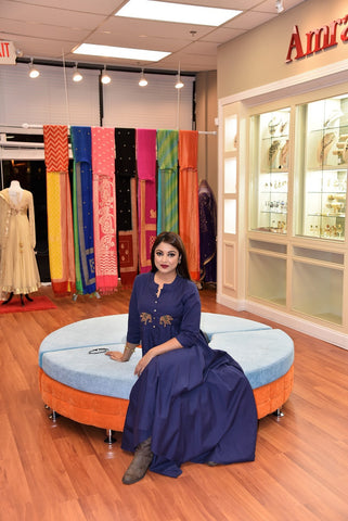 Pure Elegance clothing store in Edison, New Jersey, USA. The best place to buy designer sarees, Indian saree blouse, Indian bridal dresses, Indian wedding lehenga, Indian designer salwar kameez and Indian gold bridal jewelry in USA - Bollywood film star and celebrity dressing in USA
