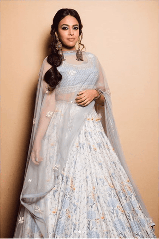 ca0f1ae56d Then you can't go wrong with Swara's sartorial finery that will channel the  bridesmaid in you. This outfit has everything you ever dreamt of- florals,  ...