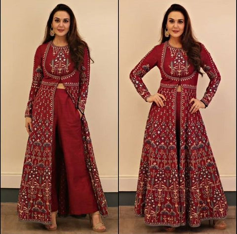 "412b643002 The statement Indian ethnic couture popularized ever since the screening of  Madhubala in her iconic Anarkali suit dancing elegantly to the ""Jab Pyaar  Kiya ..."