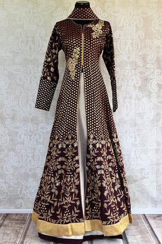 Pure Elegance Bridal Lehenga with long jacket