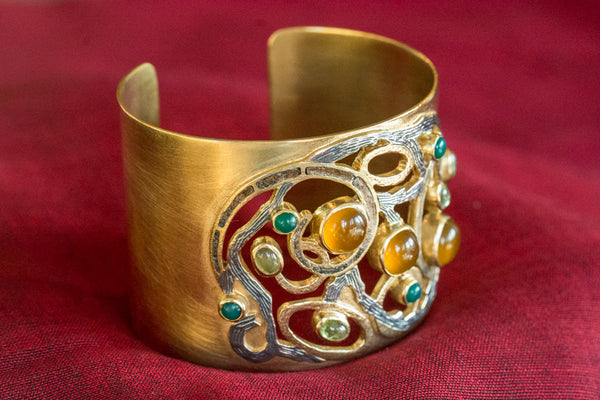 20a404-silver-gold-plated-amrapali-bracelet-yellow-green-onyx-peridot-alternate-view