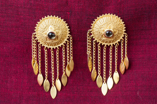20a424-silver-gold-plated-amrapali-earrings-starburst-drop-leaf