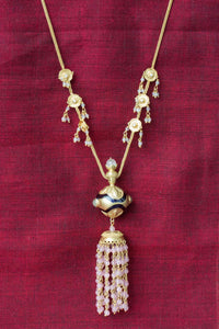 20a428-silver-gold-plated-amrapali-necklace-rose-quartz-tassel