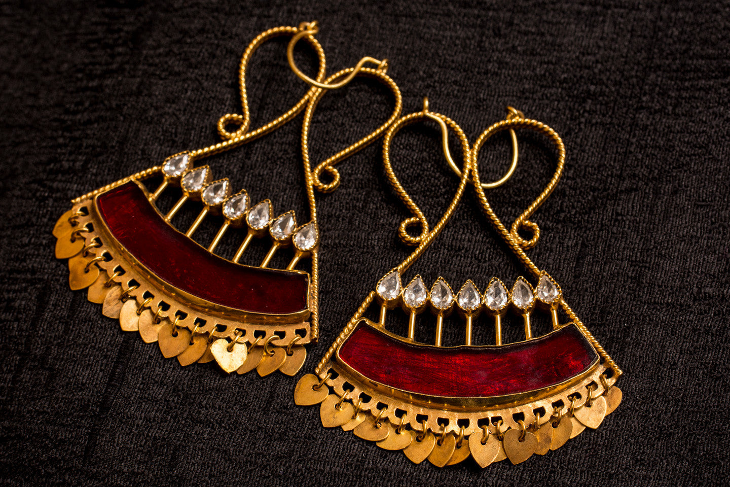 20a435-silver-gold-plated-amrapali-earrings-red-enamel-zircon