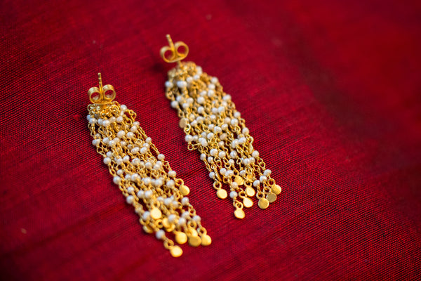 20a445Silver-Gold-Plated-Amrapali-Earrings-Pearl-alternate-view