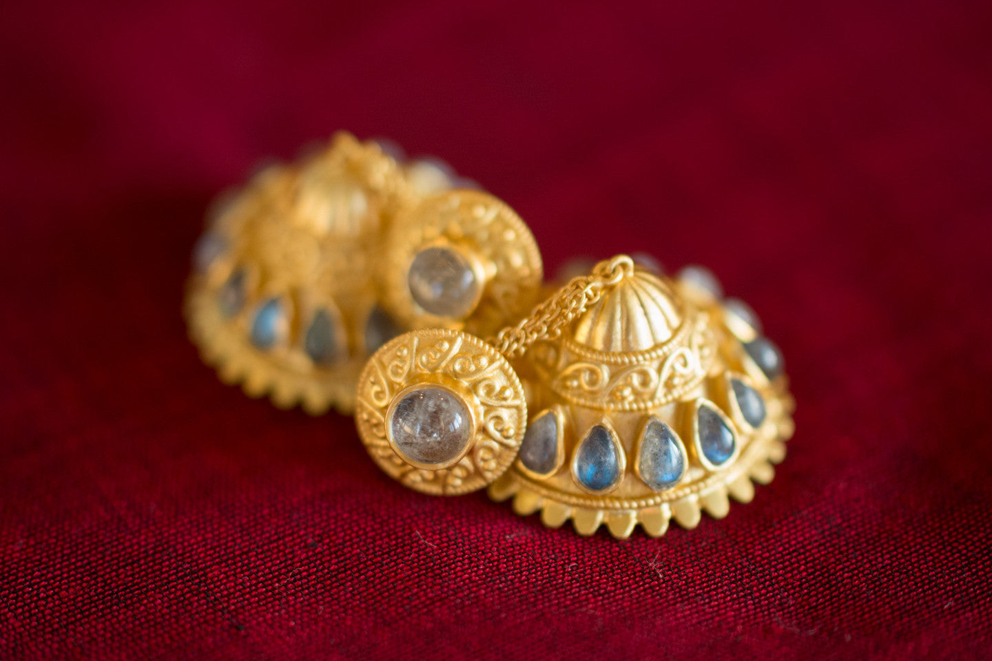 20a446-Silver-Gold-Plated-Amrapali-Earring-Moonstone-alternate-view