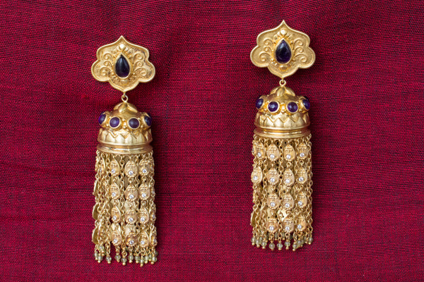 20a45-silver-gold-plated-amrapali-earrings-post-amethyst-zircon-chandelier