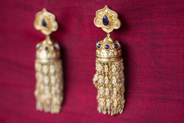 20a45-silver-gold-plated-amrapali-earrings-post-amethyst-zircon-chandelier-alternate-view
