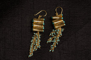 20a457-silver-gold-plated-amrapali-earrings-drop-turquoise-gold-bead