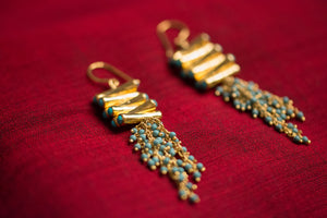 20a457-silver-gold-plated-amrapali-earrings-drop-turquoise-gold-bead-alternate-view-2