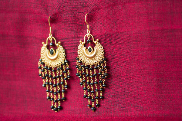 20a466-silver-gold-plated-amrapali-earrings-black-onyx-drop-bead-alternate-view