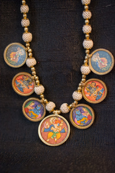 20a512-silver-gold-plated-amrapali-necklace-hand-painted-hindu-deities-pearl-alternate-view