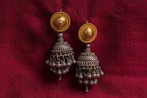 20a521-silver-gold-plated-amrapali-earrings-two-tone-disc-chandelier