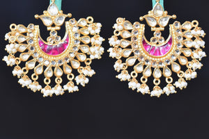 20a594-silver-gold-plated-glass-pearl-amrapali-earrings-B