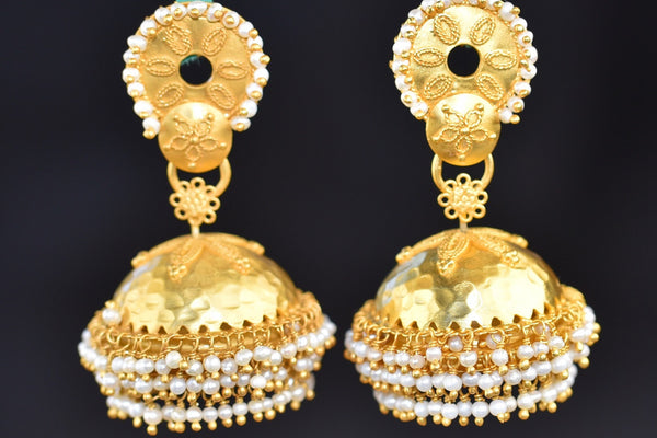 20a626-silver-gold-plated-floral-pearl-jhumka-earrings-a