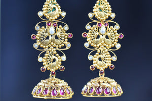 20a638-silver-gold-plated-amrapali-jhumka-earrings-B