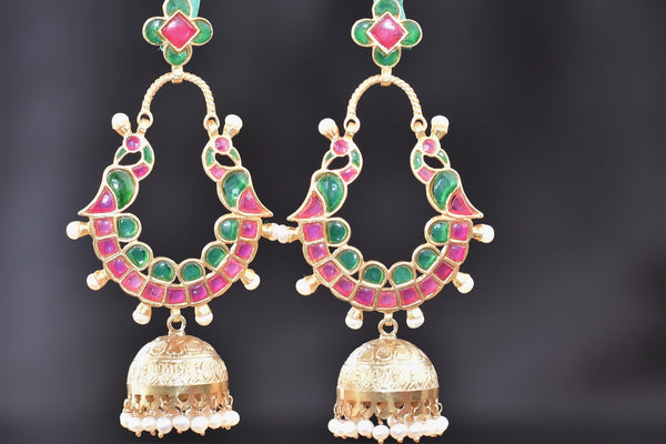 20a565-silver-gold-plated-amrapali-jhumka-earrings-A