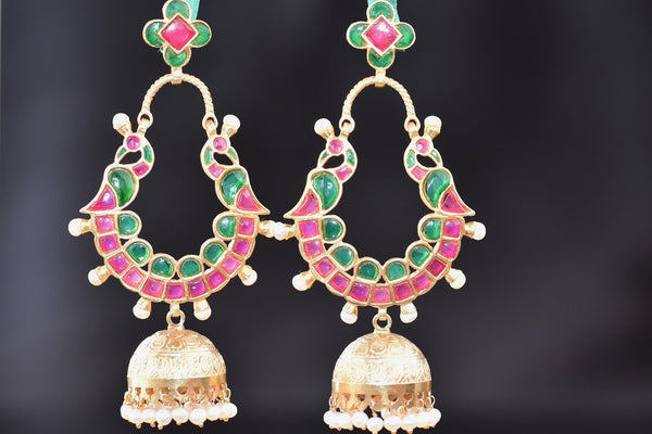20a565-silver-gold-plated-amrapali-jhumka-earrings-B