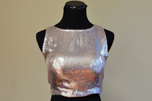 3c1f98a916d Buy this Indian ethnic fashioned silver crop top style designer blouse  online or from our store