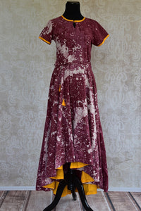 Shop this traditional Indian one piece cotton dress online or from our Pure Elegance store in USA. It is the perfect dress for any birthday party or engagement. Long Dress.