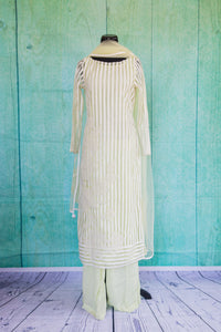 501073-suit-long-sleeve-pale-green-white-striped-scarf