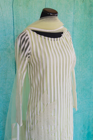 501073-suit-long-sleeve-pale-green-white-striped-scarf-alternate-view