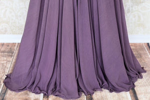 Buy lilac pearl embroidery raw silk cape style top with skirt online in USA. Make your Indian clothing collection exquisite with beautiful Indian designer dresses, Indowestern dresses available at Pure Elegance clothing store in USA or shop online.-skirt