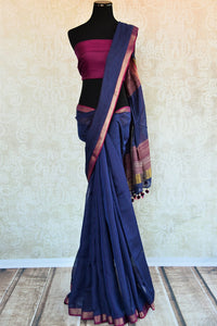 90D303, The woven matka silk sari with kantha stitch is ideal for any wedding, engagement or Indian party. It can be availed both online and at the store in Edison