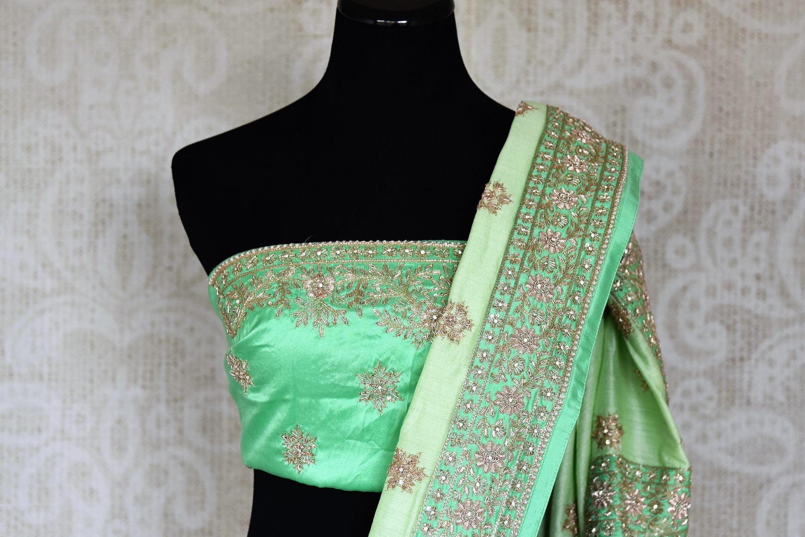 Indian Embroidered Sarees Fancy Saree Collection
