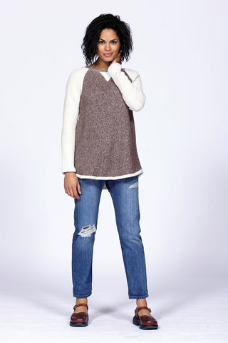 4223 raglan sleeve cozy top