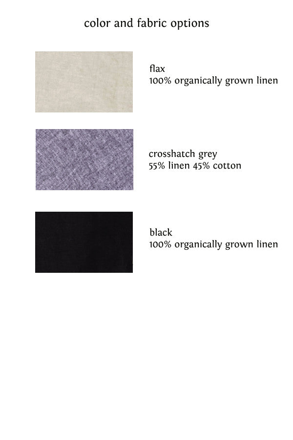 linen pocket skirt color choices