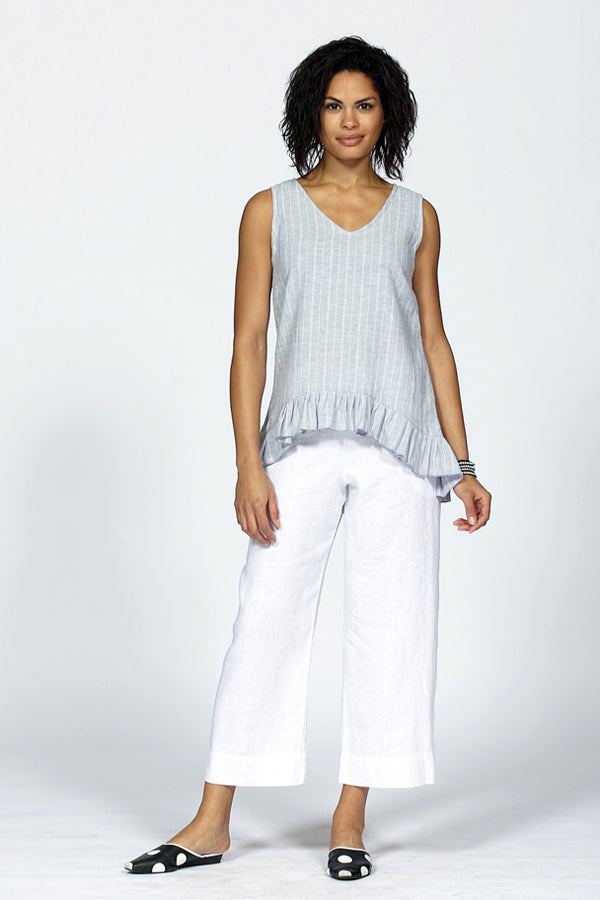 white linen pant for women