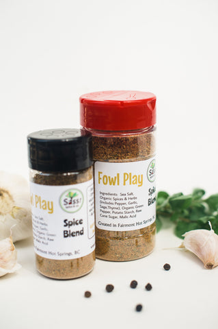 Fowl Play Spice Blend