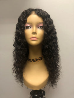 Burmese Curly Closure Wig