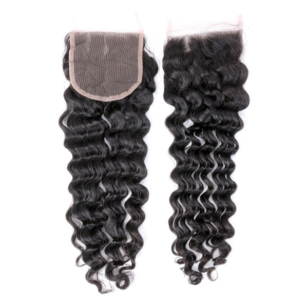 HD 5x5 Deep Wave Closure - Exotic Hair Boutique