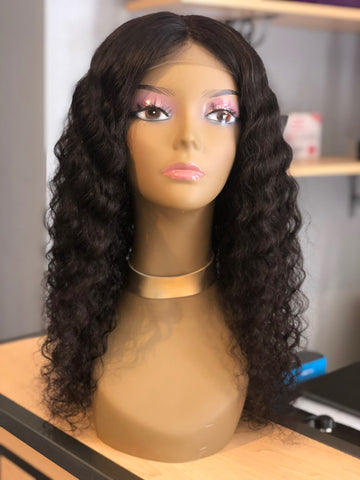 Deep Wave Closure Wig - Exotic Hair Boutique