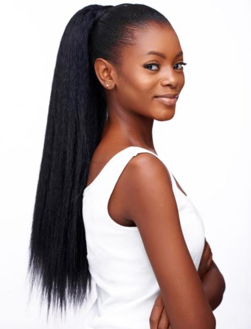 Kinky Straight Ponytail - Exotic Hair Boutique