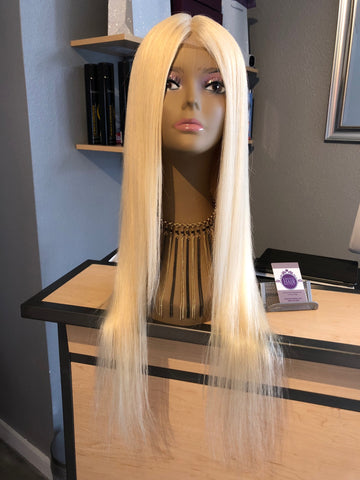 613 Blonde Lace Frontal Wig - Exotic Hair Boutique