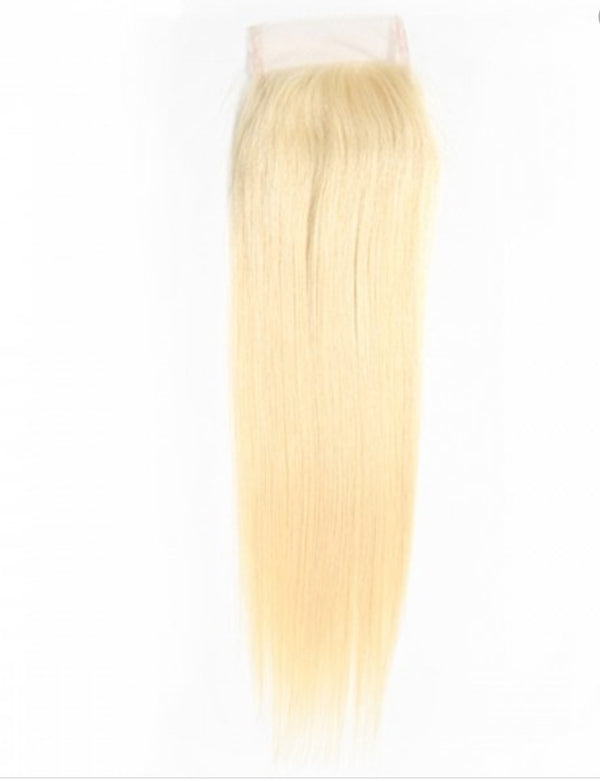 HD 613 Blonde Straight Closure - Exotic Hair Boutique