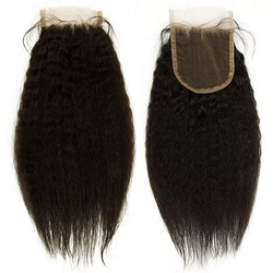 HD 5x5 Kinky Straight Closure - Exotic Hair Boutique