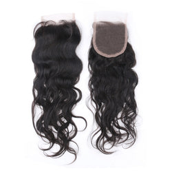 HD 5x5 Natural Wave Closure - Exotic Hair Boutique