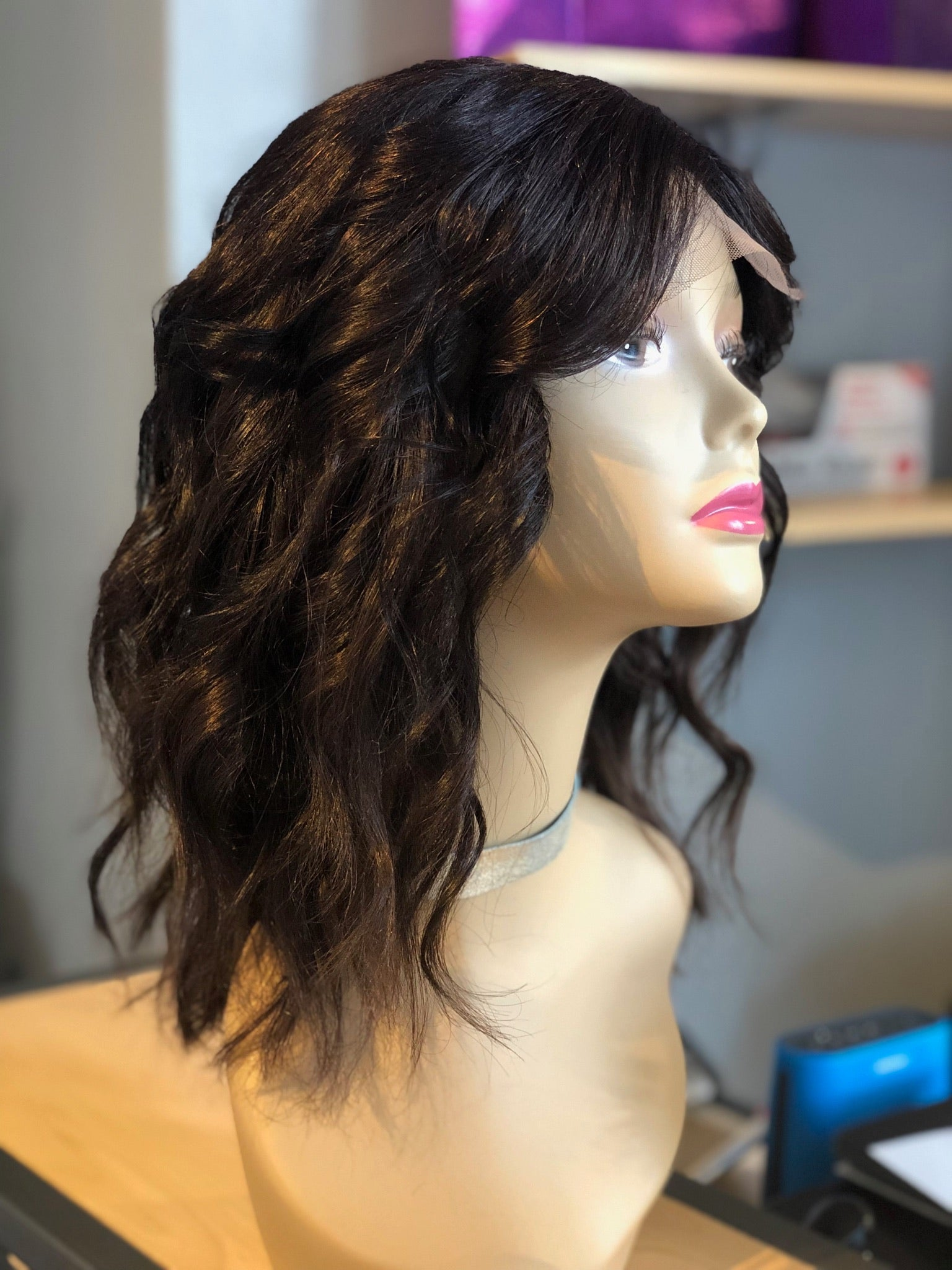 Beachy Wave Closure Wig - Exotic Hair Boutique
