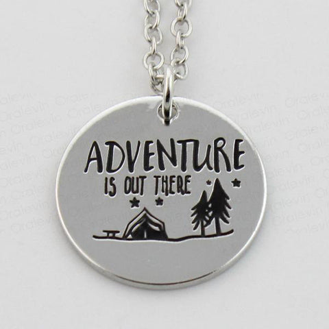 Adventure Is Out There Pendant Necklace