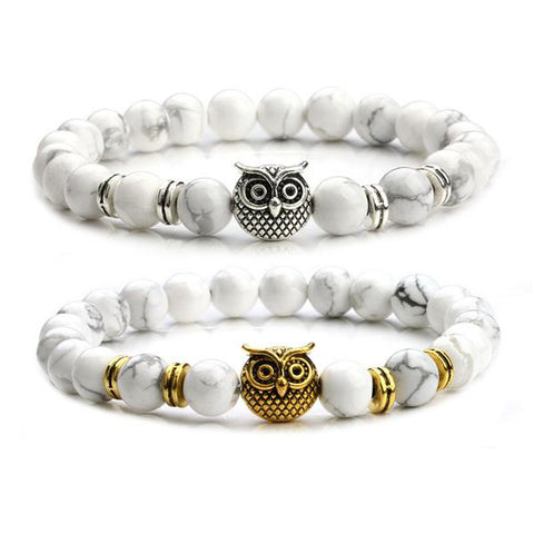 Charming Owl Eyes Yoga Bracelet