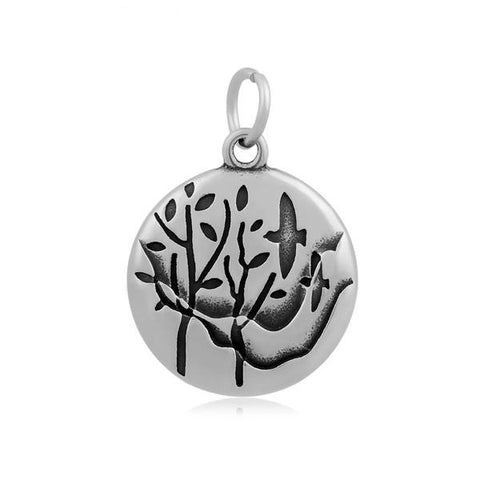 Floating Tree Pendant Necklace